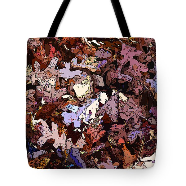 Forest Floor By Daylight Tote Bag