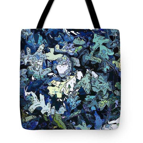 Forest Floor By Starlight Tote Bag
