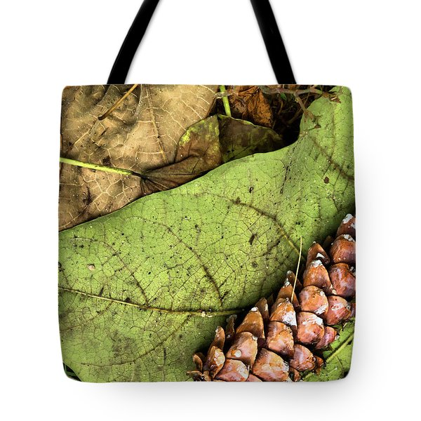 Forest Floor Still Life Tote Bag