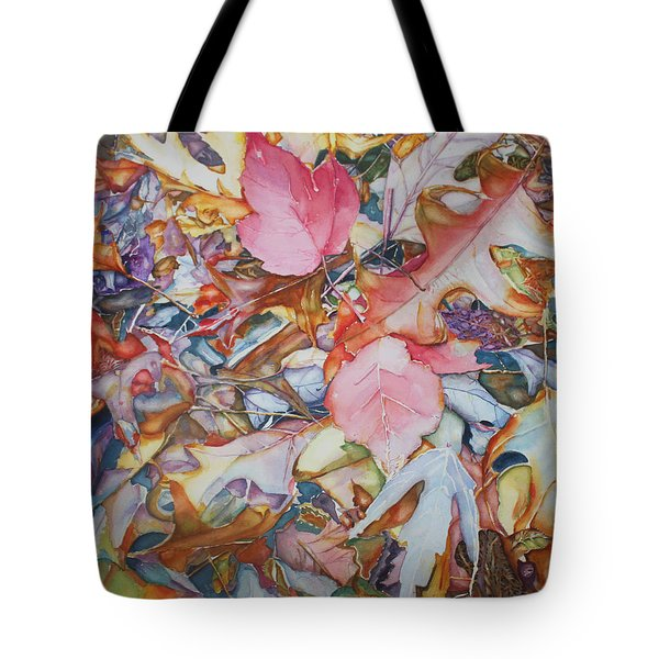 Forest Floor Tapestry Tote Bag