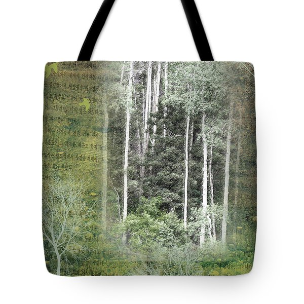 Forest For The Trees Tote Bag by Nadine Berg