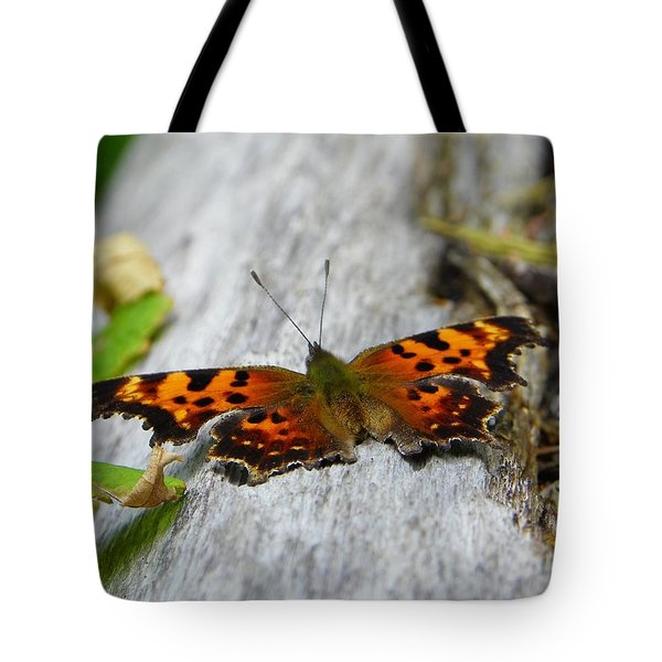 Forest Fritillary Tote Bag by KD Johnson