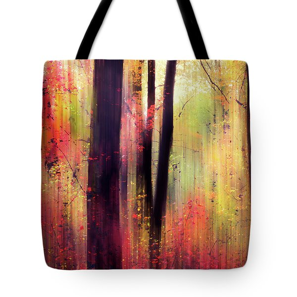Tote Bag featuring the photograph Forest Frolic by Jessica Jenney