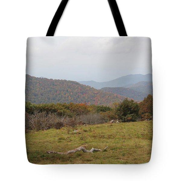 Forest Highlands Tote Bag