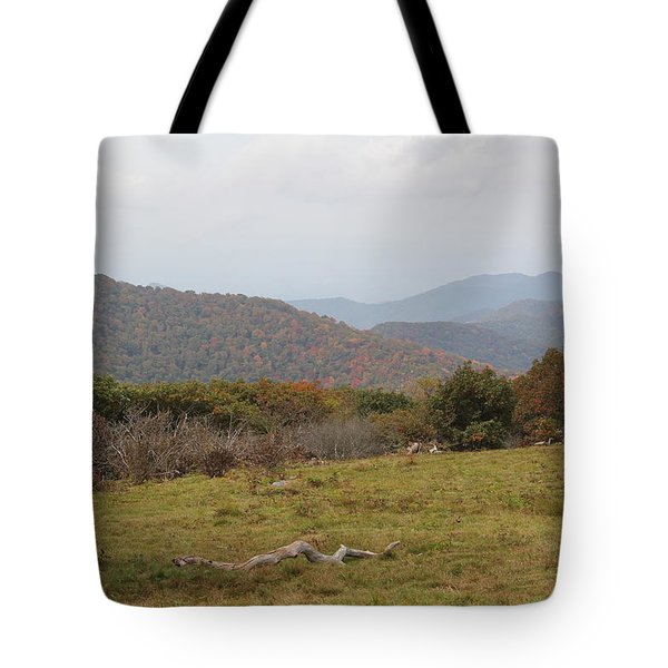 Forest Highlands Tote Bag