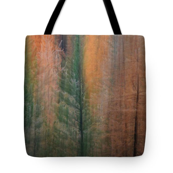 Forest Illusion- Autumn Born Tote Bag