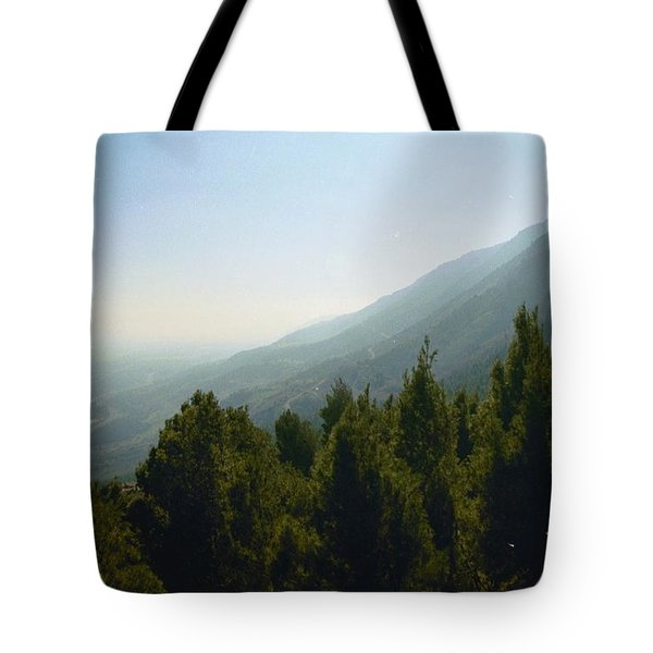Forest In Israel Tote Bag