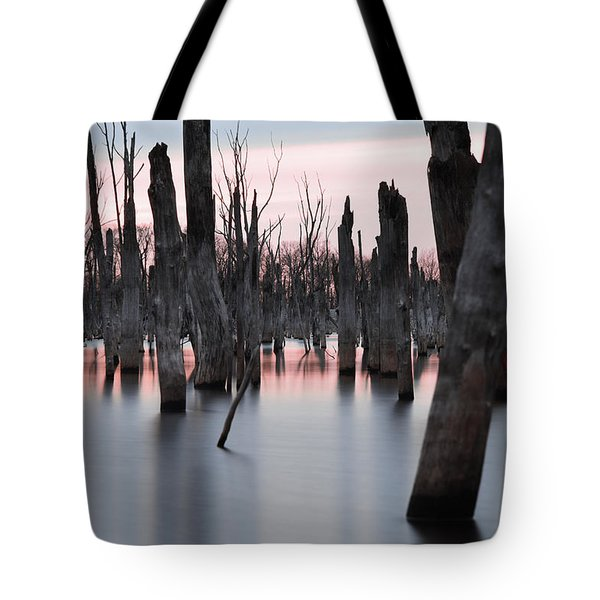 Forest In The Water Tote Bag