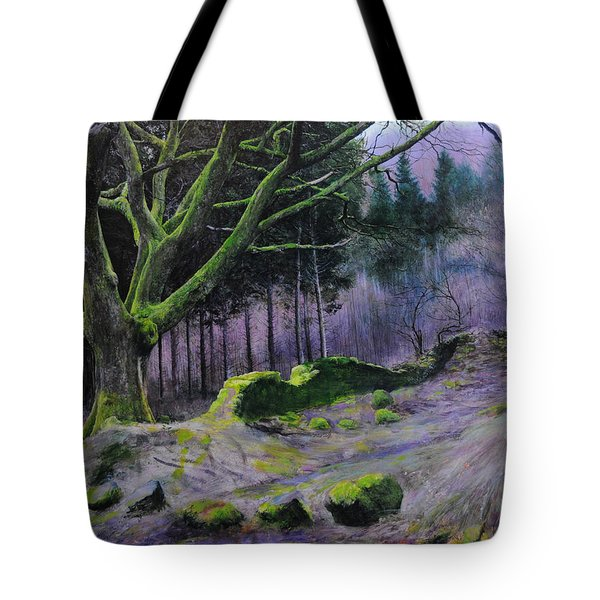 Forest In Wales Tote Bag
