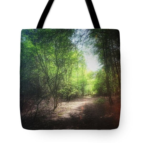 #forest #instagood #woods #trees Tote Bag