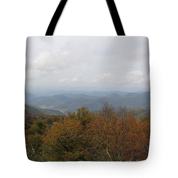 Forest Landscape View Tote Bag