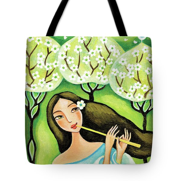 Forest Melody Tote Bag