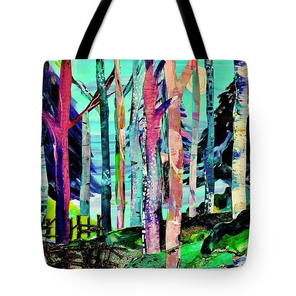 Forest Of Evening Whimsy Tote Bag