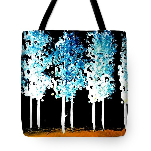 Forest Of Nightmares  Tote Bag