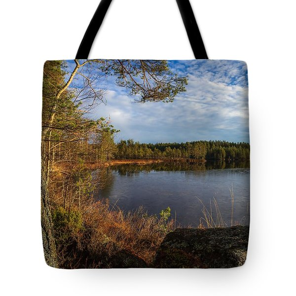 Tote Bag featuring the photograph Forest Of The Finns by Rose-Maries Pictures
