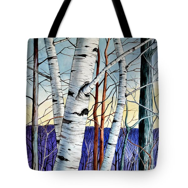 Forest Of Trees Tote Bag