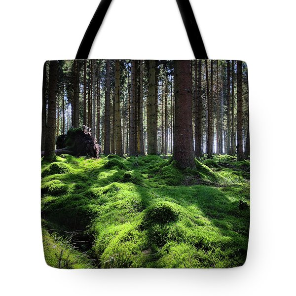 Forest Of Verdacy Tote Bag