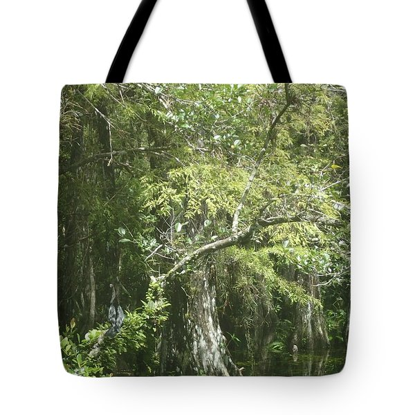 Forest On A Swamp Tote Bag
