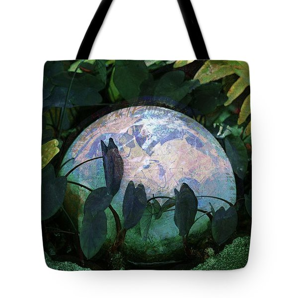 Forest Orb Tote Bag by Lori Seaman