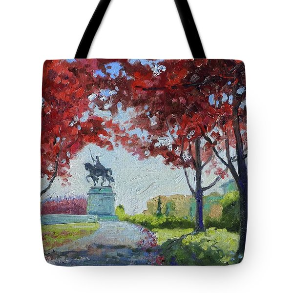 Forest Park Autumn Colors Tote Bag