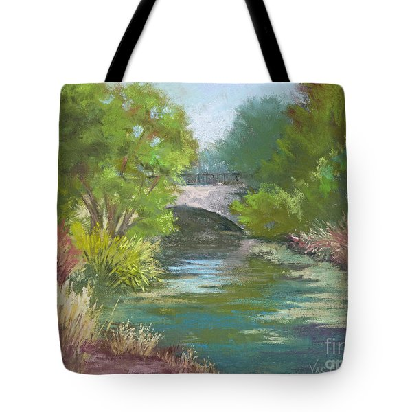Forest Park Bridge Tote Bag
