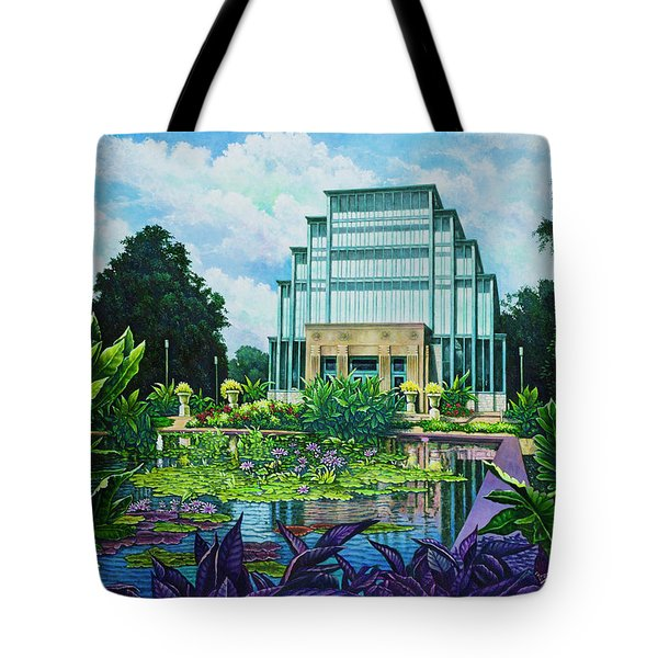 Forest Park Jewel Box Tote Bag by Michael Frank