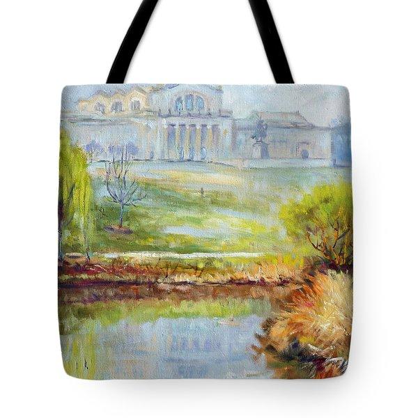 Forest Park -spring Tote Bag