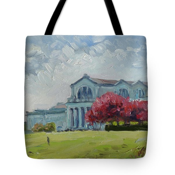 Forest Park Sunny Morning St.louis Tote Bag