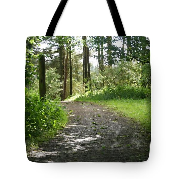 Forest Path. Tote Bag