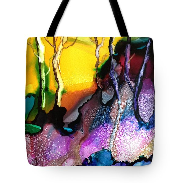Forest People Tote Bag by Suzanne Canner