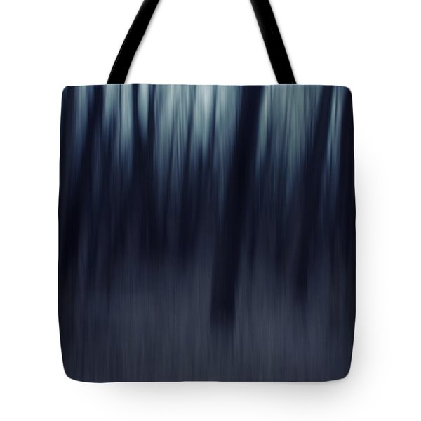 Forest Pitch Dark Tote Bag