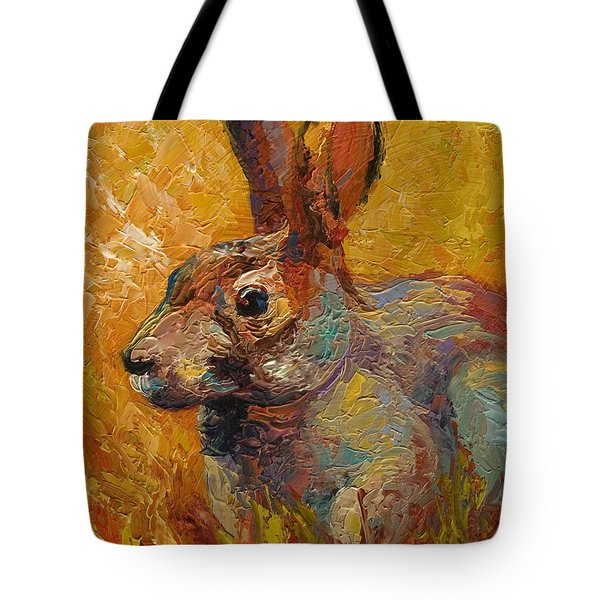 Forest Rabbit IIi Tote Bag