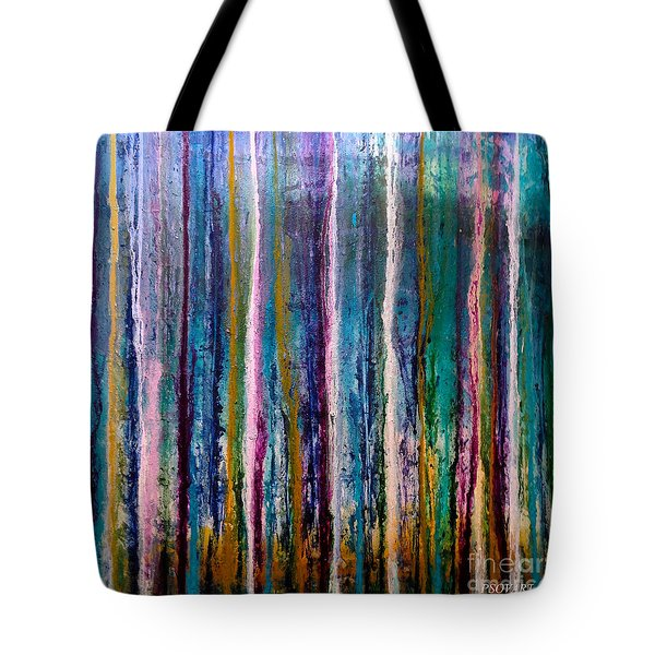 Forest Rain Tote Bag