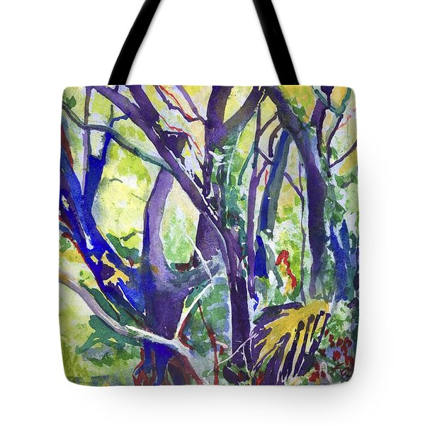 Forest Rainbow Tote Bag