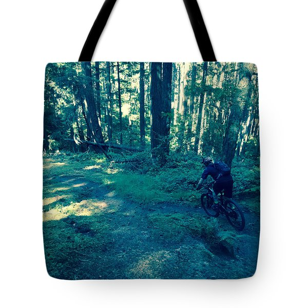 Forest Ride Tote Bag