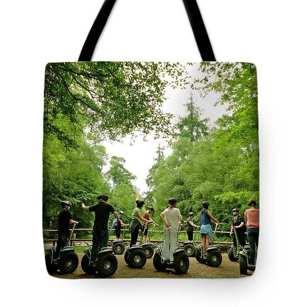 Forest Segway Tote Bag