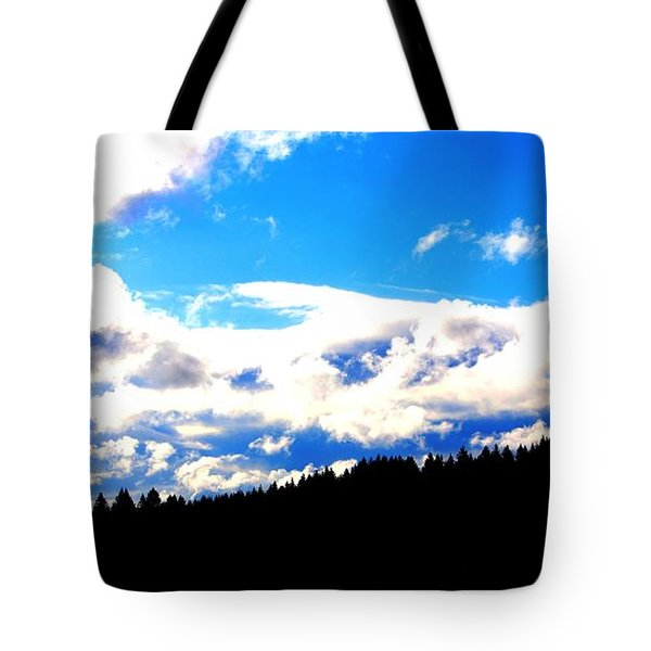 Forest Storm Tote Bag