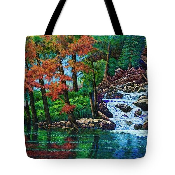 Forest Stream II Tote Bag by Michael Frank