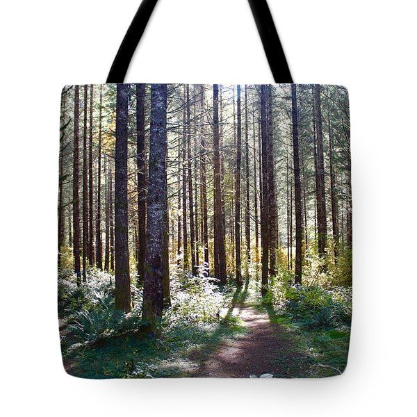 Forest Stroll Tote Bag