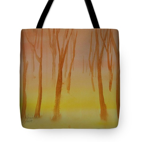 Forest Study Tote Bag