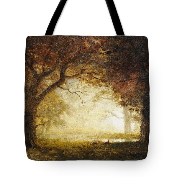 Forest Sunrise Tote Bag