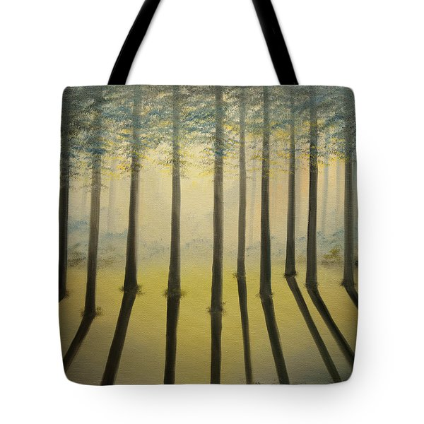 Forest Thru The Trees II Tote Bag