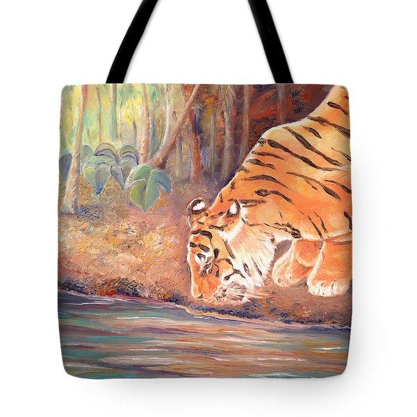 Forest Tiger Tote Bag