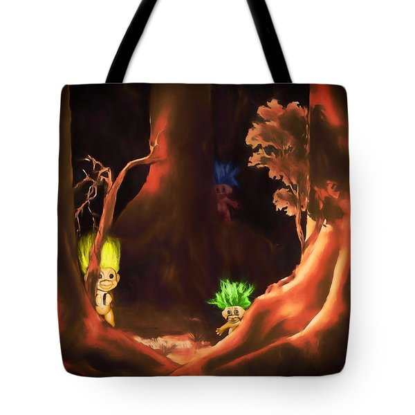 Forest Trolls Tote Bag