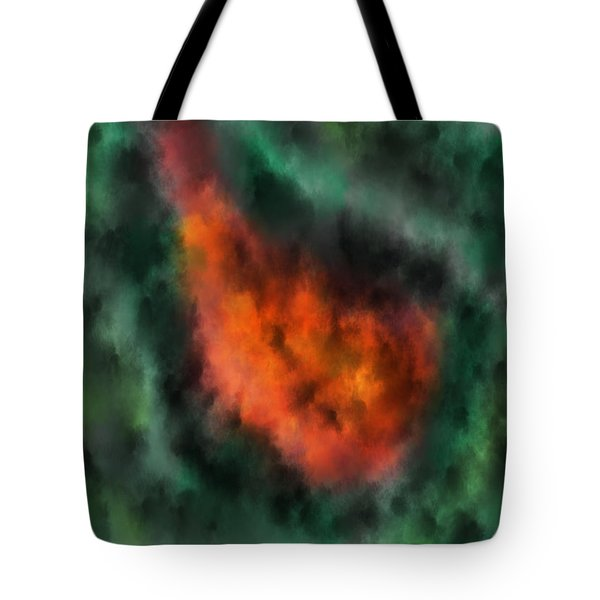 Forest Under Fire Tote Bag