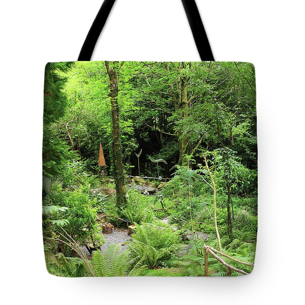 Tote Bag featuring the photograph Forest Walk by Aidan Moran