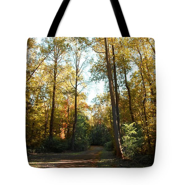 Tote Bag featuring the photograph Forest Walk by Joseph G Holland