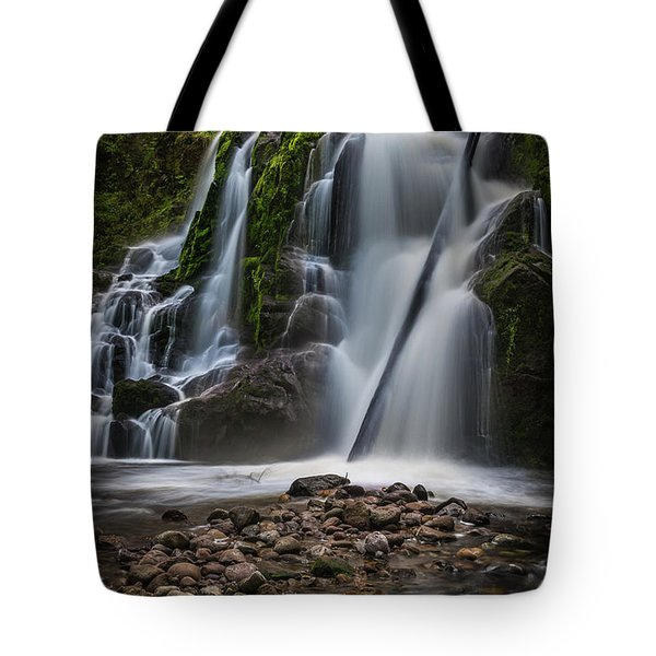 Forest Waterfall Tote Bag by Chris McKenna