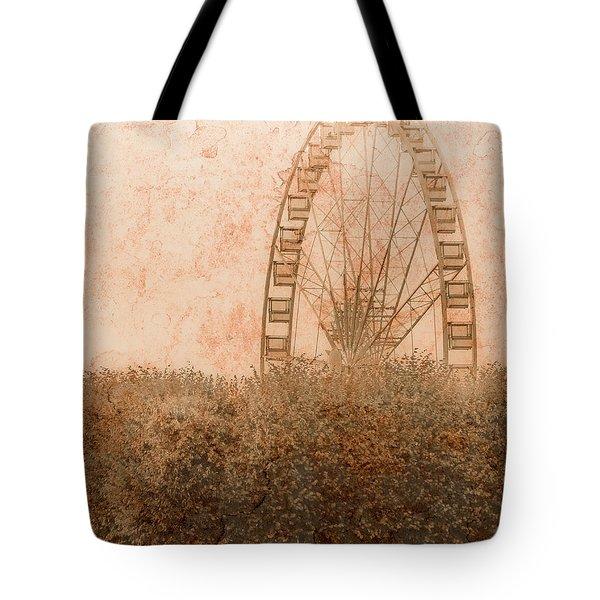 Paris, France - Forest Wheel Tote Bag
