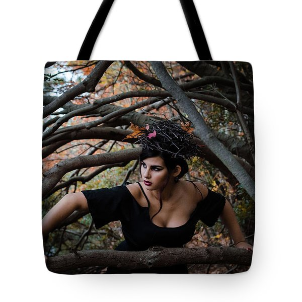 Forest Witch Tote Bag by Stefanie Silva